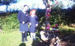 KATELYN & AOIFE @ MEMORIAL TREE