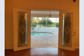 Pool view off Kitchen/Dining Area