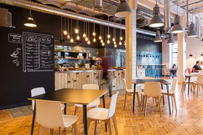 Canalot Dance Studio And Cafe A Past Project By