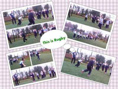 Partnerships/Rugby training with Carlos