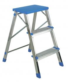 Two Step Ladder + Platform