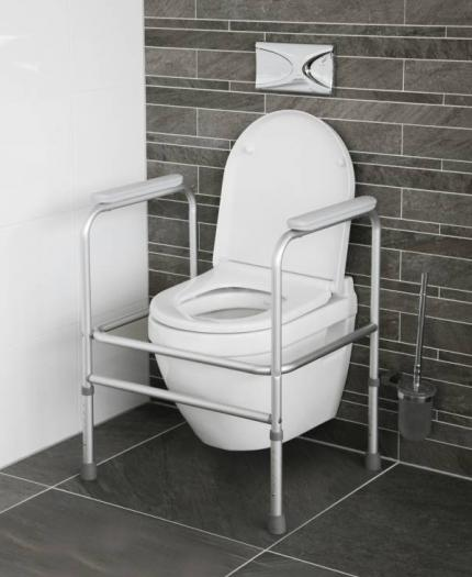 Toilet Frame - Height Adjustable