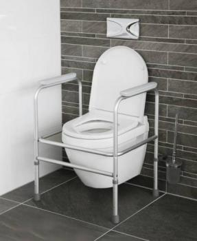 Toilet Frame - Height Adjustable