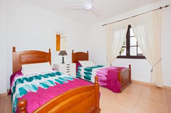 Twin Bedroom 2 with Air Con