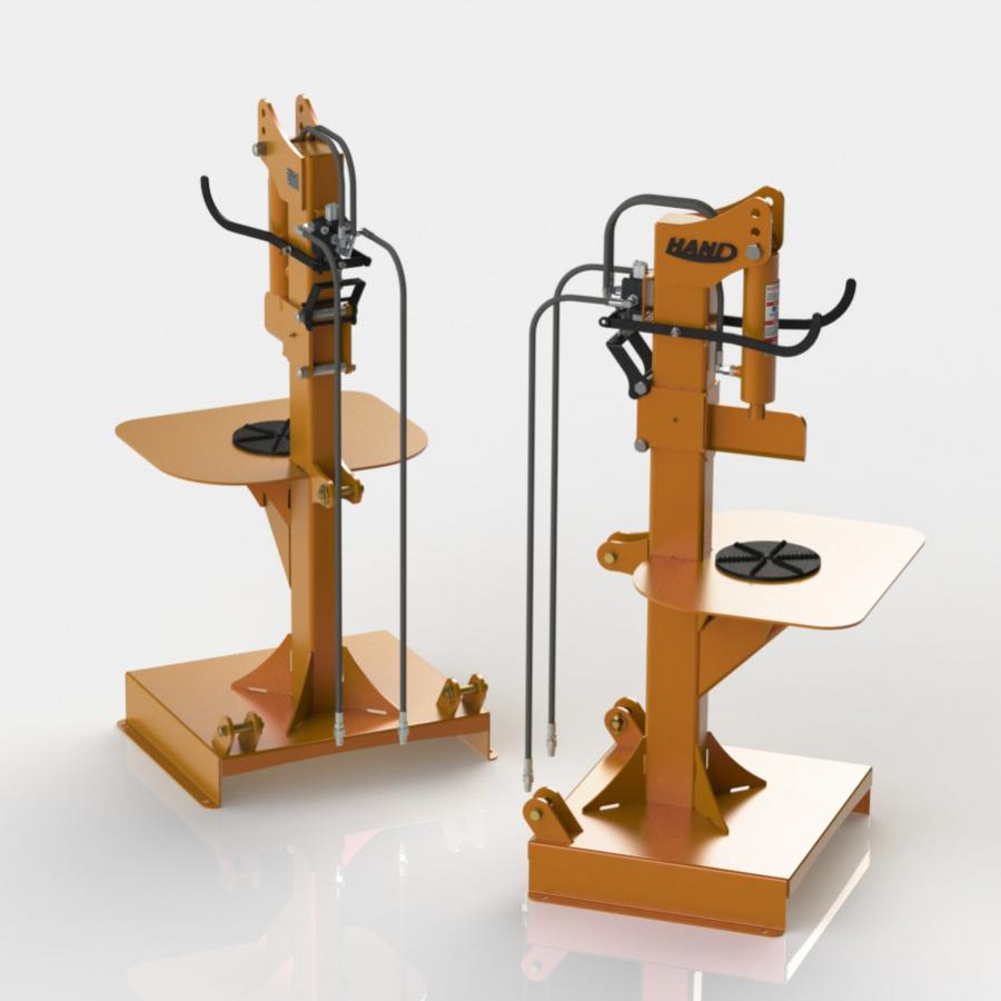HAND Vertical Log Splitter