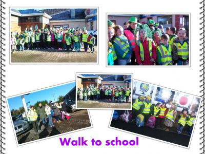Partnerships/Walk to school pupils& parents