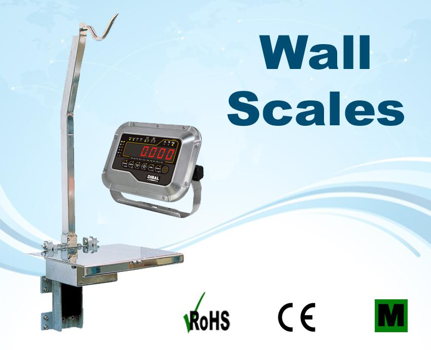 Image for Stainless Steel Wall Scales
