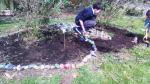 Doing up butterfly garden