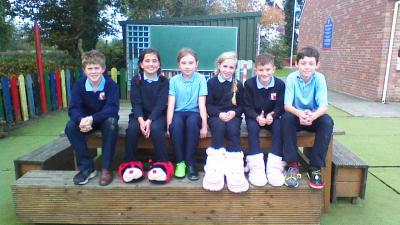 PUPILS COUNCIL FUNKY SHOES