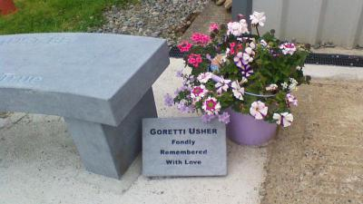 Tribute to our friend Gorretti Usher